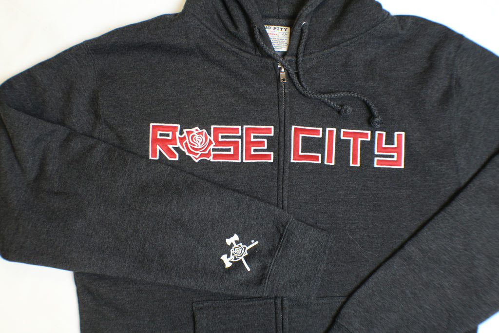 Rose City Embroidered Hoody