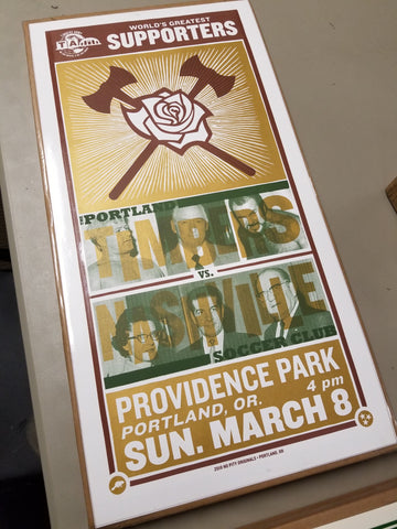 Nashville Match Day Poster