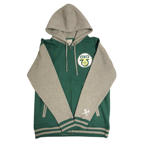 Civic Embroidered Men's Hoodie