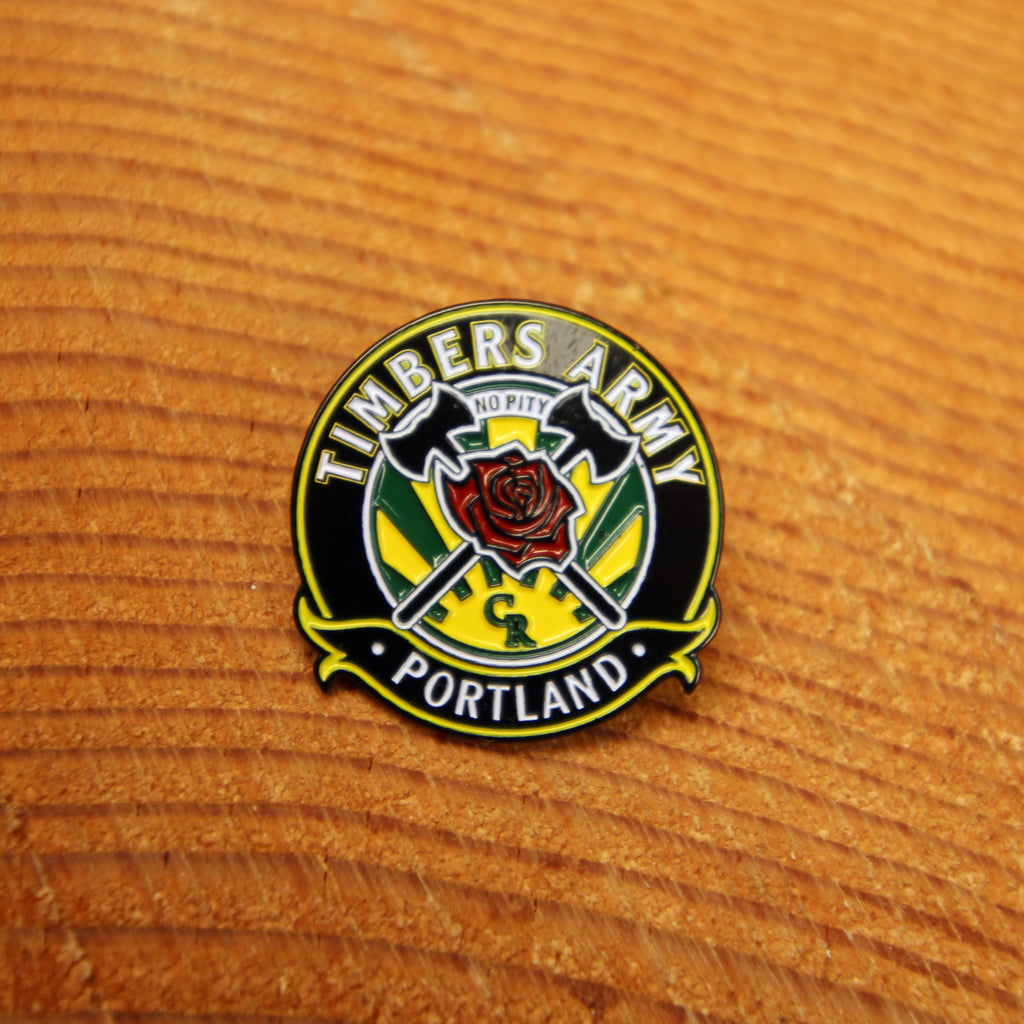 Timbers Army Crest Pin