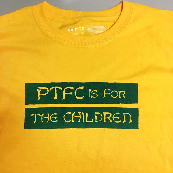 PTFC is for the Children Kid's T-Shirt