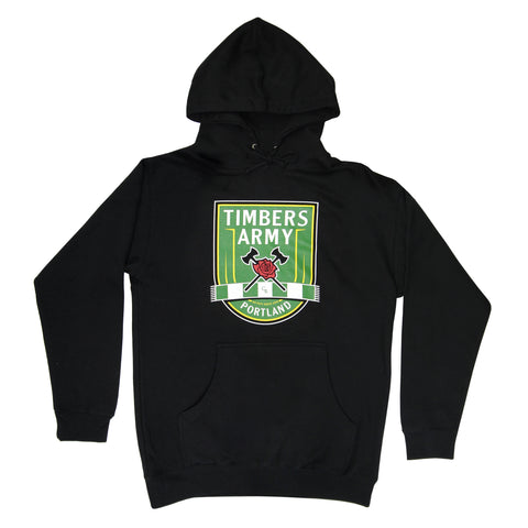 Timbers Army New Crest Hoodie