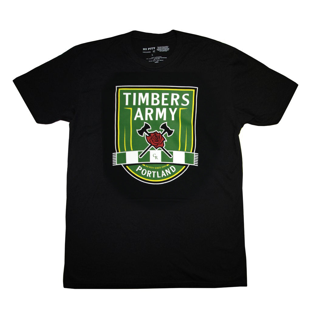 Timbers Army New Crest T-Shirt