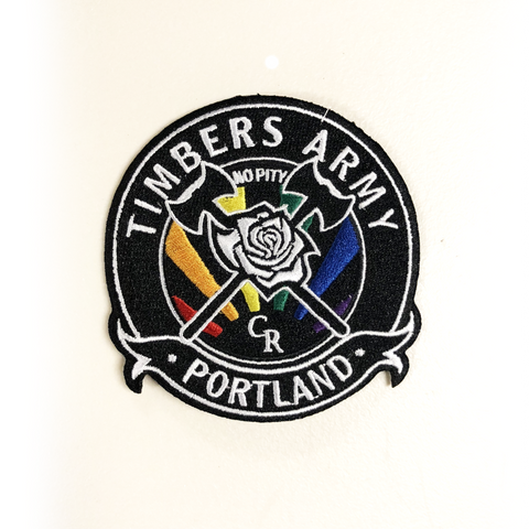 Timbers Army Crest Patch-Pride