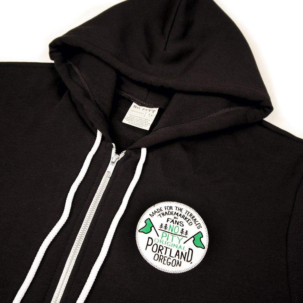 No Pity Original Patch Hoodie