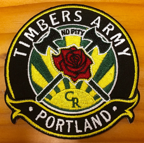 Timbers Army Crest Patch