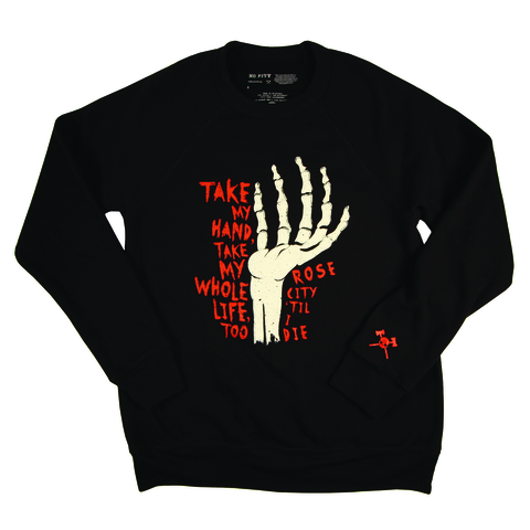 Take My Hand Men's Crew Sweatshirt