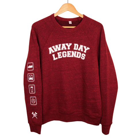 Away Day Legends Crew Men's Sweatshirt