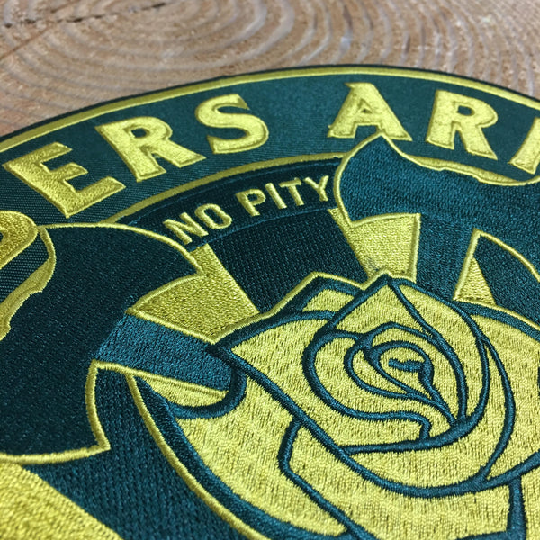 Timbers Army Crest Back Patch-Green and Gold