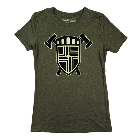 Flag Crest & Axes Women's T-Shirt