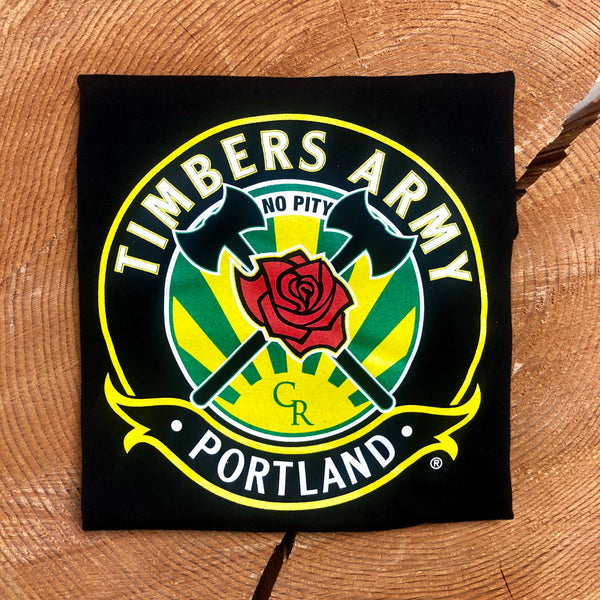 Timbers Army Crest Kid's T-Shirt