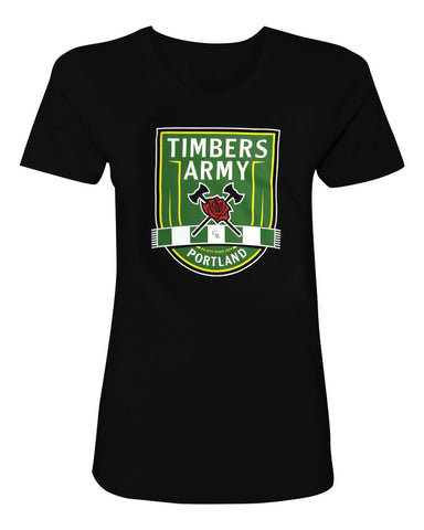 Timbers Army New Crest Women's T-Shirt
