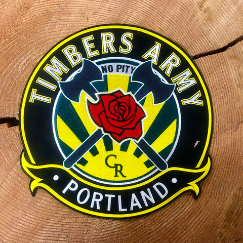 Timbers Army Crest Back Patch