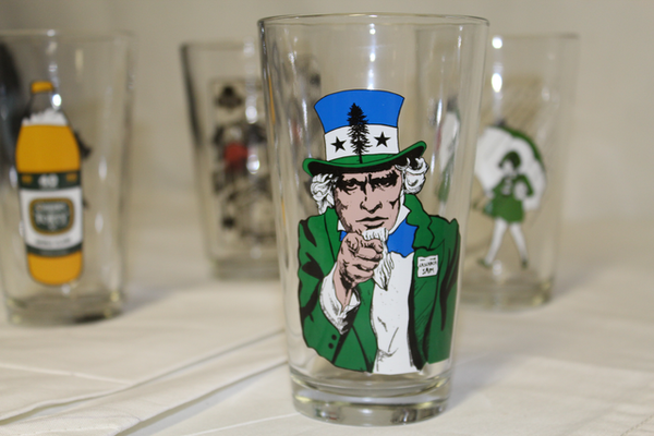 Tifo Pint Glasses