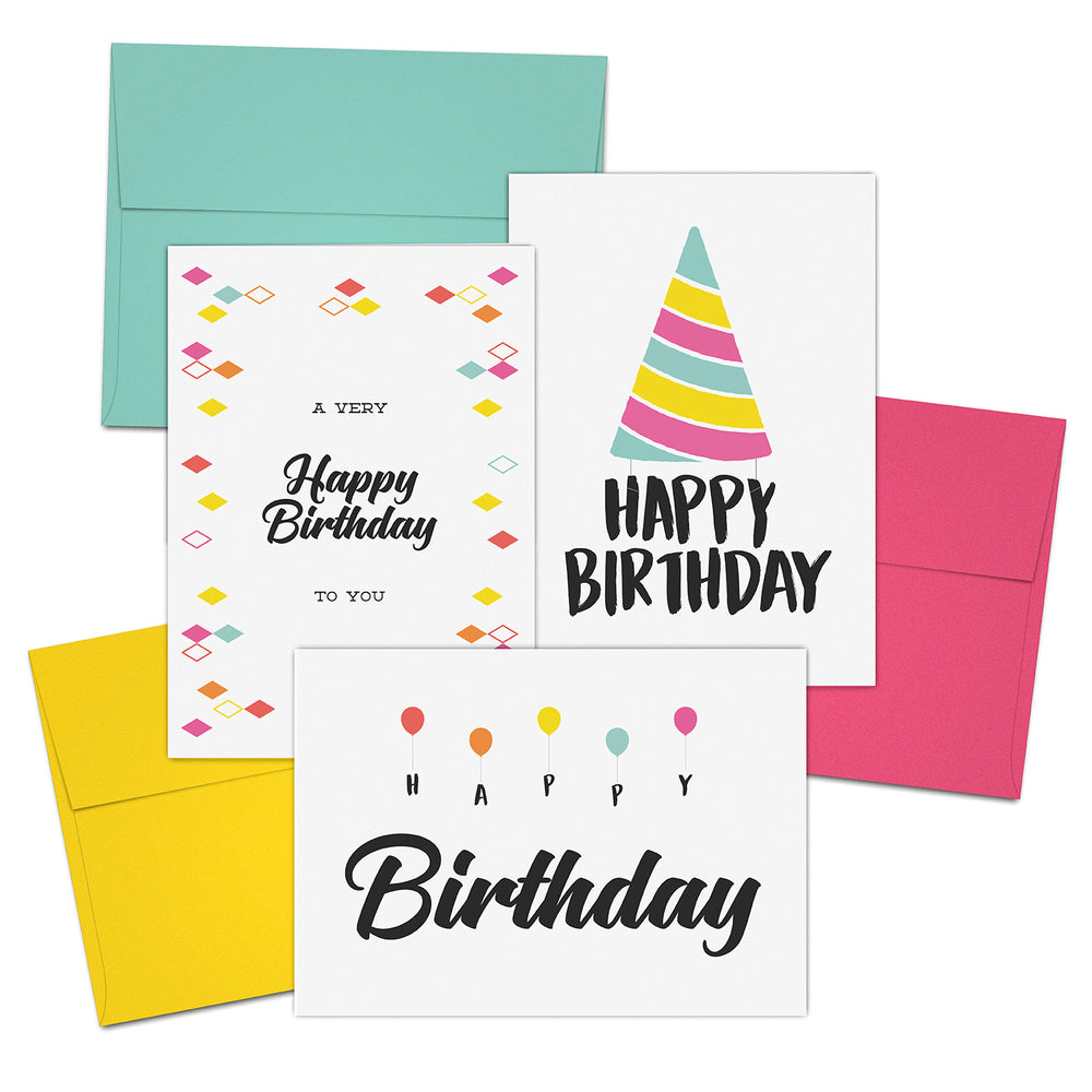 Jot & Mark Birthday Cards