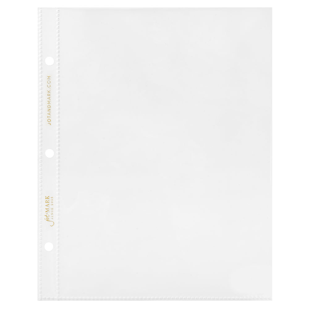 Recipe Binder Protective Sleeves Expansion Pack