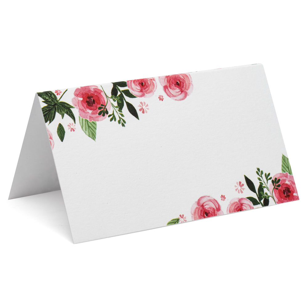 Place Cards - Pink Peonies (50 count)