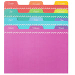 Greeting Card Organizer Tabbed Dividers - Rainbow (Set of 12)