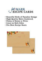 Recipe Cards - Birds of Paradise (Pack of 50)