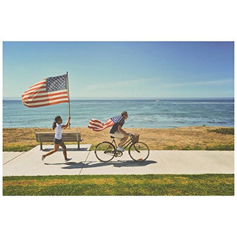 Flag Postcards - Running & Biking (25 count)