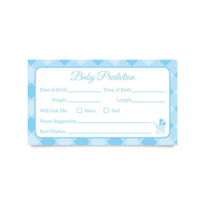 "Baby Prediction Cards 3.5 x 2"" (Pack of 25)"