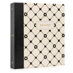 Recipe Binder Kit 8.5x9.5 (Dulcet Bijou) - Recipes Binder, Recipe Cards, Classic Dividers, and Protective Sleeves