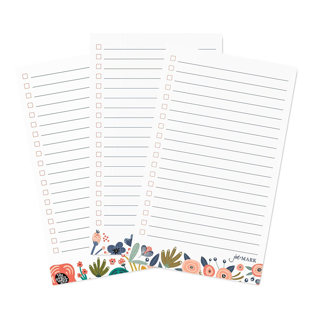 Floral To-Do Cards (Pack of 75)