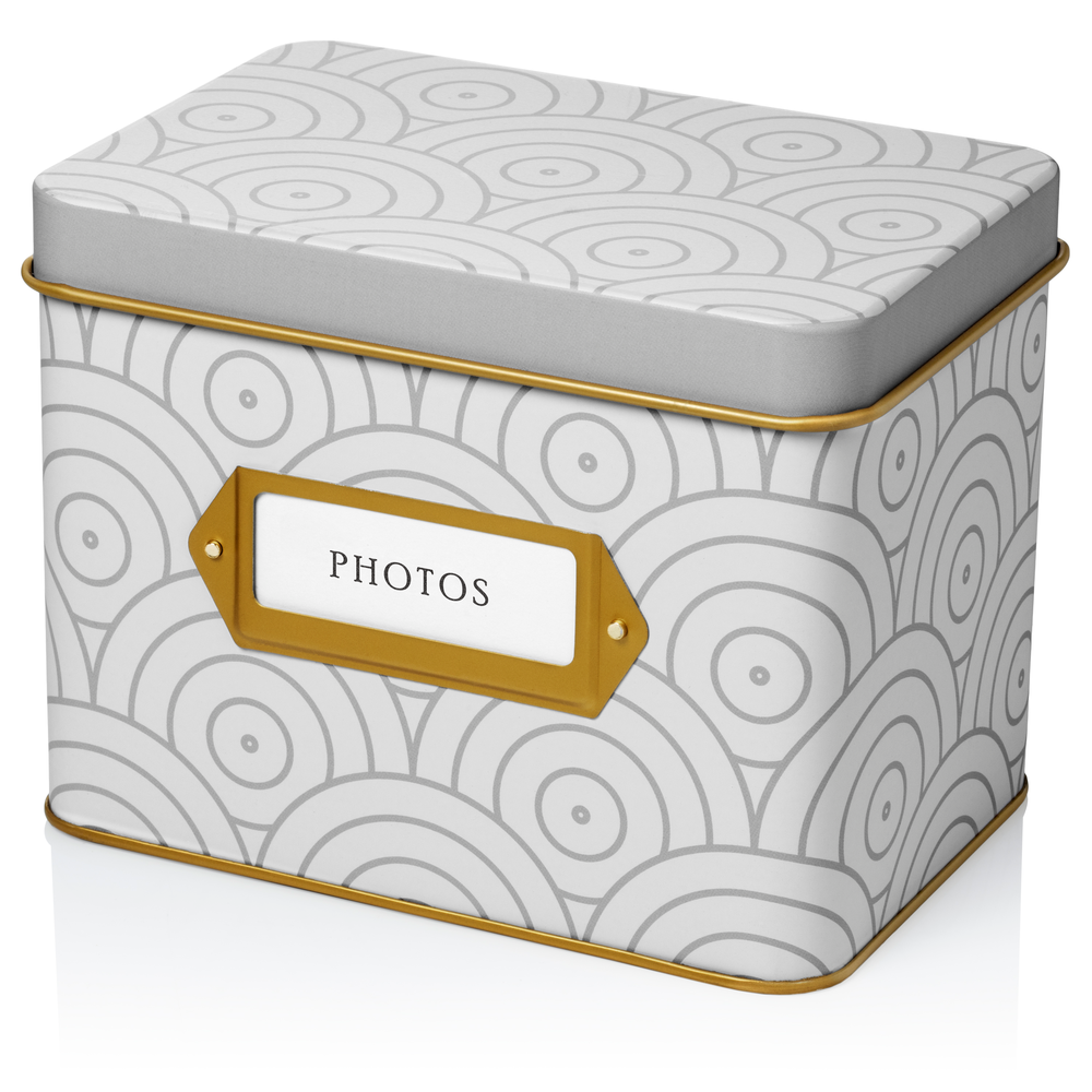 Photo Organizer Storage Box (Concentrique)
