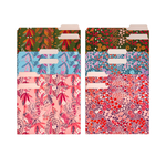 Floral Pattern File Folders | Letter Size Colorful Folders for Documents and Filing Cabinets (Set of 12)