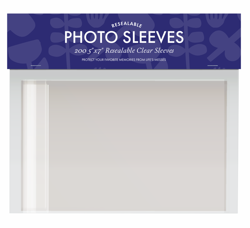 "Photo Sleeves 5"" x 7"" 
