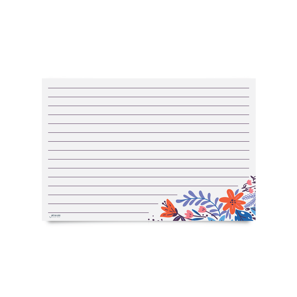Recipe Cards - Wildflower (Pack of 50)