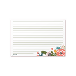 Recipe Cards - Garden Floral (Pack of 50)