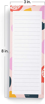 Fruit Print Shopping List Pads (Set of 3)