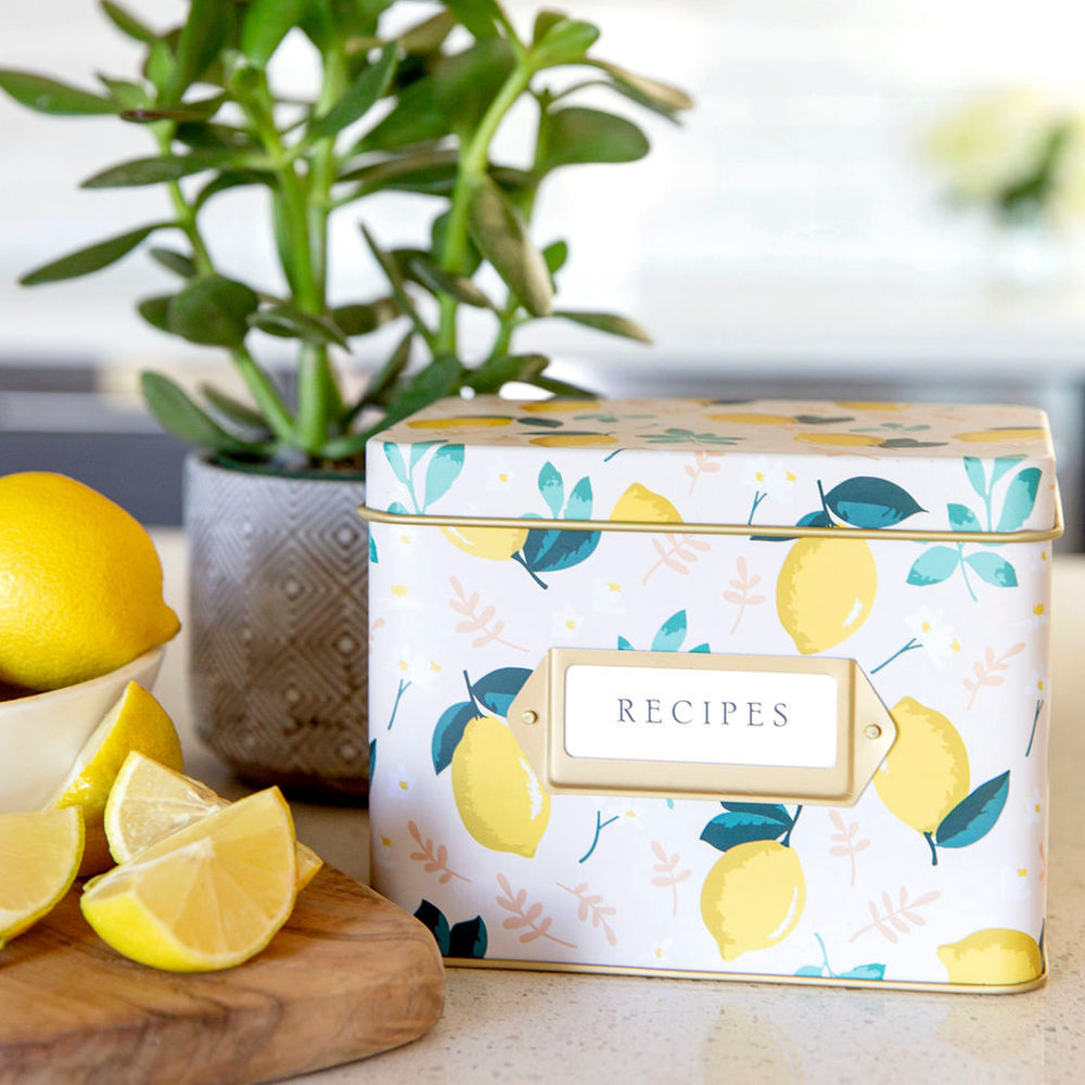 Recipe Tin - Lemon Zest