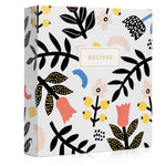 Recipe Binder Kit 8.5x9.5 (Scandinavian Floral) - Recipes Binder, Recipe Cards, Rainbow Dividers, and Protective Sleeves