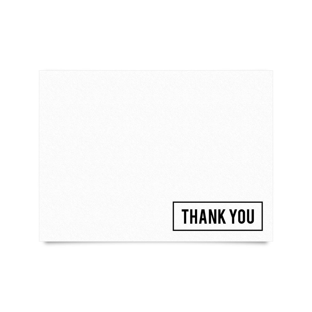 "Thank You Cards 4 x 5.5"" (Set of 20 with Envelopes)"