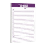 "To Do List Magnetic Notepad 5.5"" x 8.5"" - Purple (50 Sheets)"