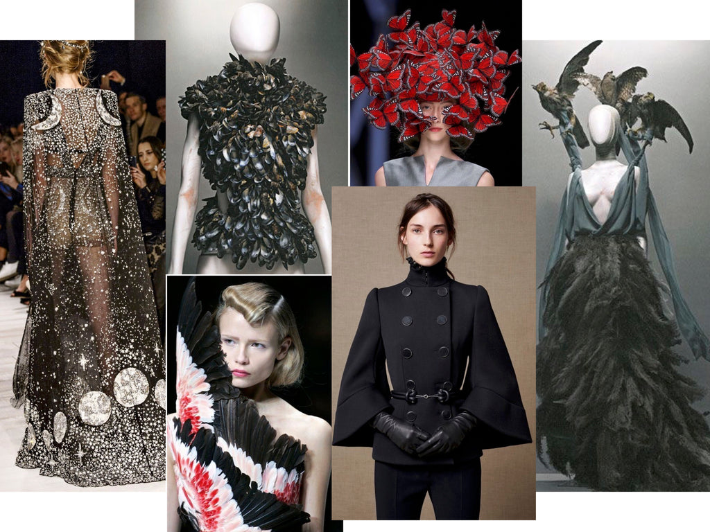 Designs by Alexander McQueen
