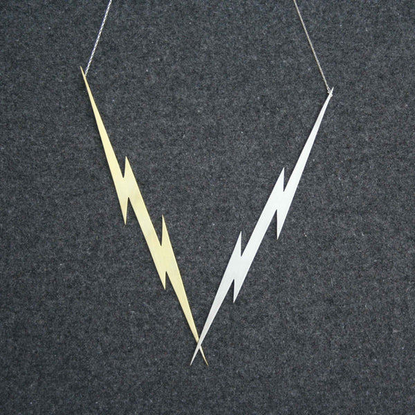 Lightning Killer Bolts necklace by Right Collection