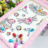 Self adhesive bling pack - crowns