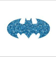 Glitter tattoo stencil - Bat- 5pcs