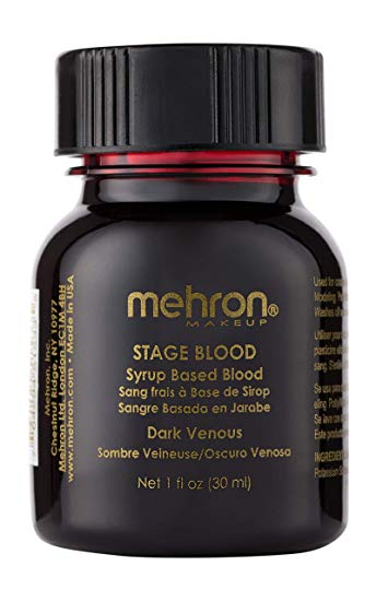 Mehron Stage blood - Dark venous with brush 30ml