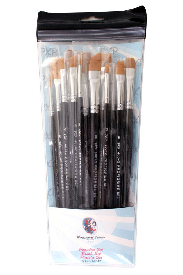 PXP professional brush set 15pcs