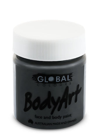 Global liquid bodypaint Black 45ml