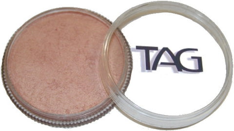Tag pearl blush face paint