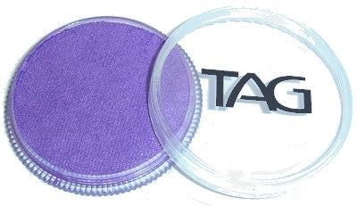 Tag pearl purple face paint