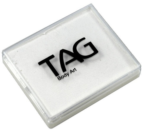 Tag regular white 50gm rectangular