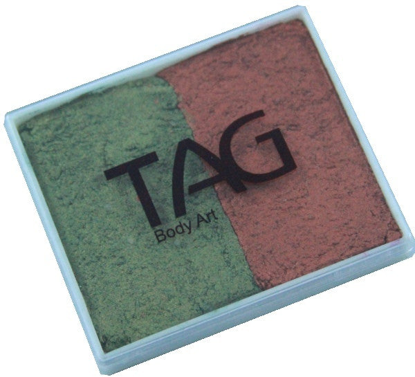 Tag split cake - Pearl bronze green/Pearl copper 50gm