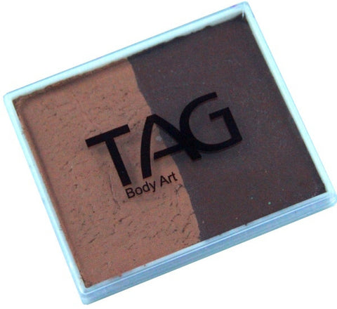 Tag split cake - Brown/Mid brown 50gm