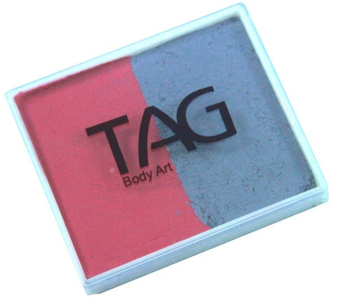 Tag split cake - Soft grey/Rose 50gm